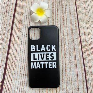 Black Lives Matter iPhone 11 Case